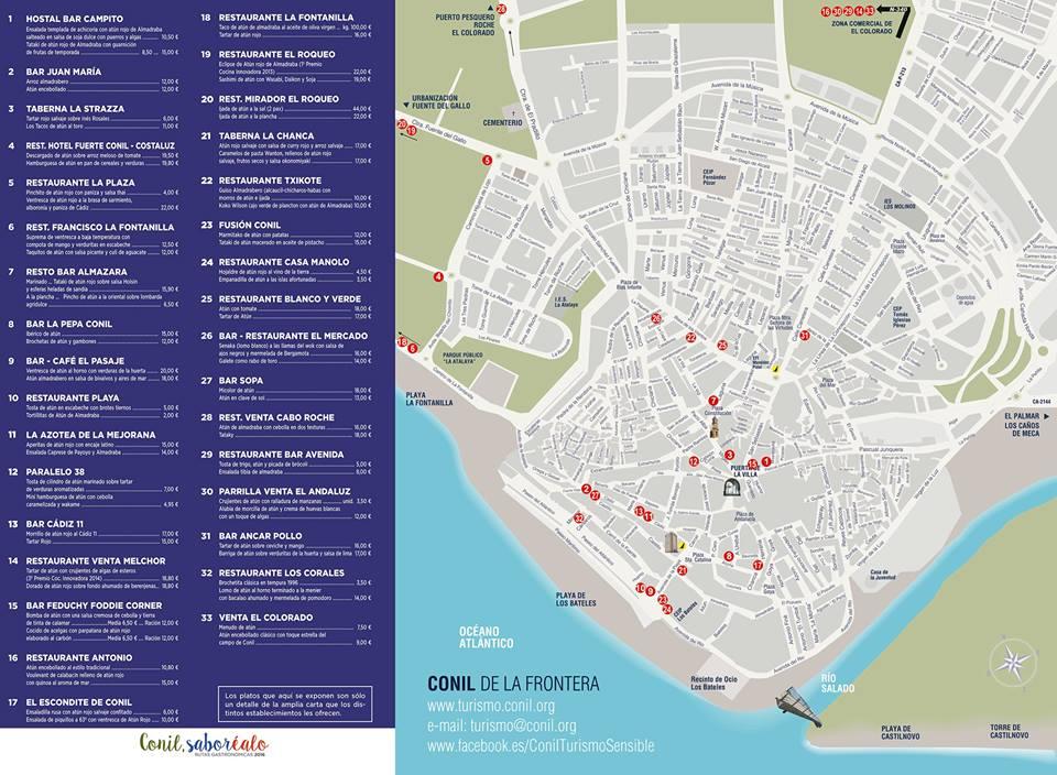 localización restaurantes